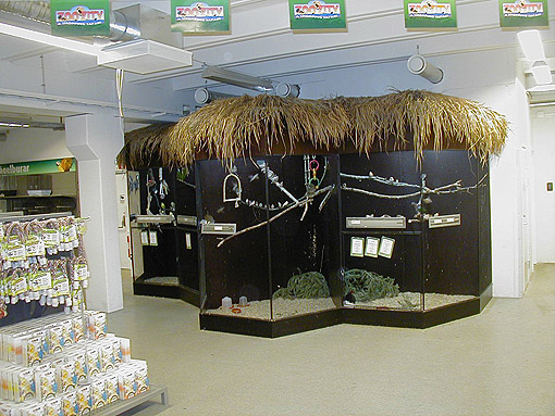 Zoo Zity Dyrehandel Inventar Kaningård Gnaverbure Akvariereol