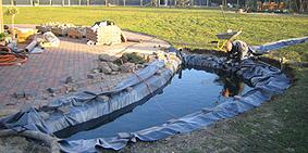 Klart vand i haven- salg af koi karper - vandrensning UV/Ozon ...